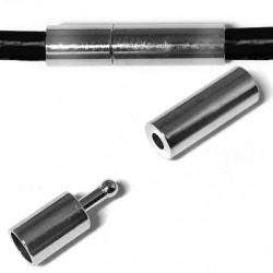 Brass Clasp Tube 4x18mm Ø 3mm