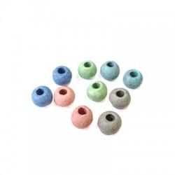 Κεραμική Χάντρα Μπίλια Πετροπλυμένη 8mm (Ø3.3mm)