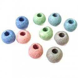 Perle Céramique 12mm (Ø 4mm)