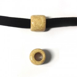 Ceramic Matte Slider Tube 10x12mm (Ø 5.5mm)
