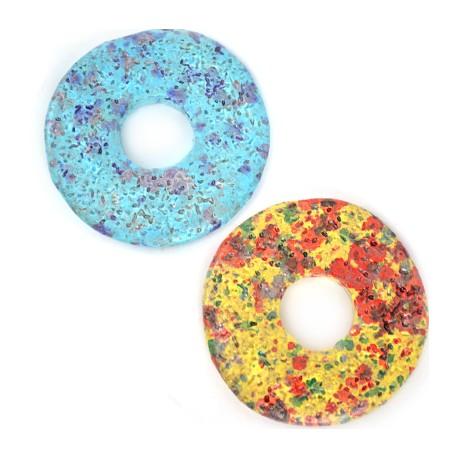 Disco in Ceramica Dipinta a Freddo 51mm  (Ø 18.2mm)
