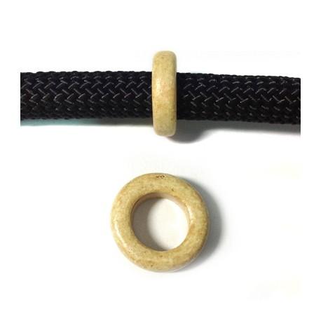 Κεραμική Χάντρα Ροδέλα 19x6mm (Ø10mm)