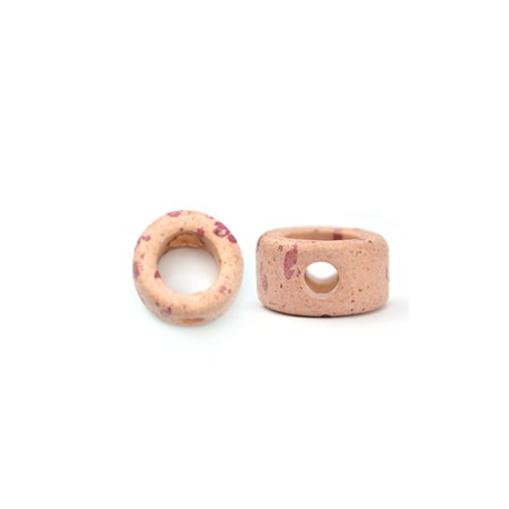 Ceramic Matte Ring 20mm with Vertical Hole (Ø 4mm)
