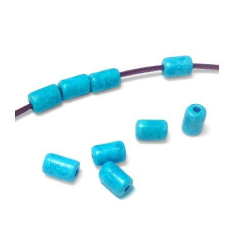 Κεραμική Χάντρα Ροδέλα 6x10mm (Ø2.3mm)