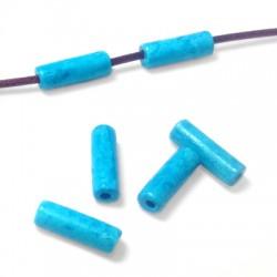 Κεραμική Χάντρα Σωληνάκι 6x20mm (Ø2.3mm)