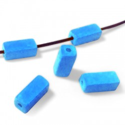 Ceramic Matte Slider Tube Rectangular 8x2.5mm (Ø 2.5mm)