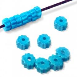 Κεραμική Χάντρα Ροδέλα 10x5mm (Ø2.3mm)