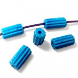 Κεραμική Χάντρα Σωληνάκι 10x20mm (Ø2.5mm)
