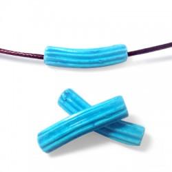 Ceramic Matte Curved Tube Gear 8x33mm (Ø 2mm)