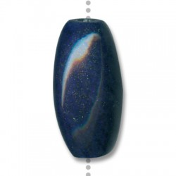 Enamel Ceramic Slider Oval 40x20mm (Ø 3.5mm)