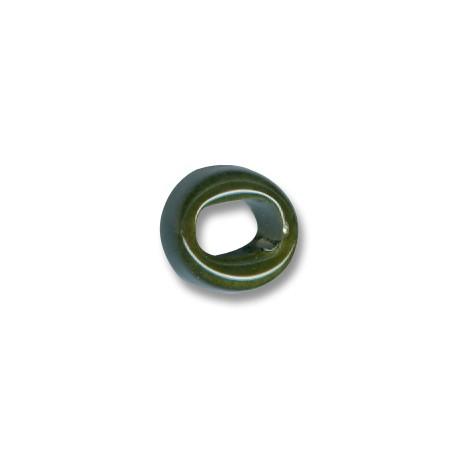 Tubo Passante in Ceramica Smaltata 15x9mm (Ø 8mm)