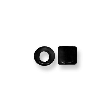 Tubo Passante in Ceramica Smaltata 9mm (Ø 5.5mm)