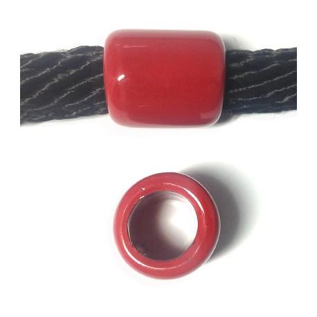 Tubo Passante in Ceramica Smaltata 22x25mm (Ø 15mm)