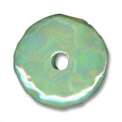 Disque Céramique Émaillé 45mm (Ø 8mm)