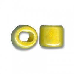 Κεραμική Χάντρα για Regaliz με Σμάλτο 15mm (Ø11x8mm)