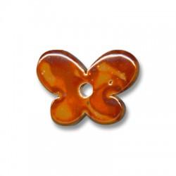 Papillon Céramique Émaillé 30x12mm