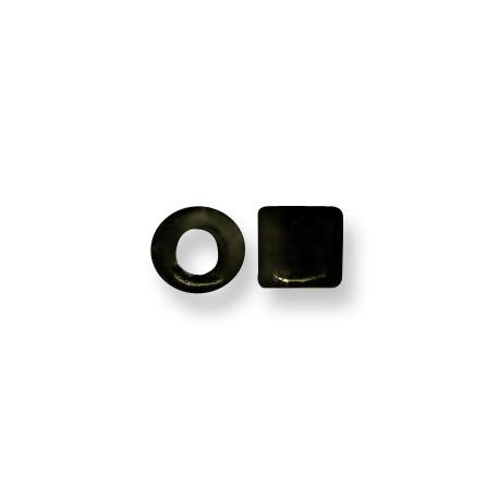 Enamel-Glazed Multi Color Ceramic Slider Tube 9mm (Ø 5.5mm)