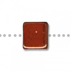 Passant Céramique Carré Plat Émaillé 20mm (Ø 8mm)
