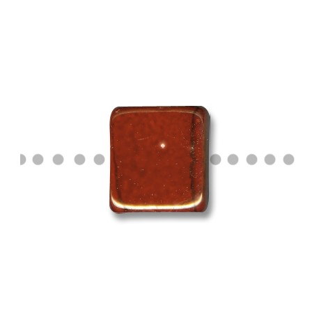 Enamel-Glazed Multi Color Ceramic Slider Square Flat 20mm (Ø 8mm)