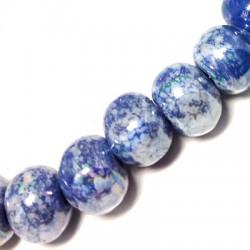 Perla in Ceramica Smaltata 16mm (Ø 4mm)