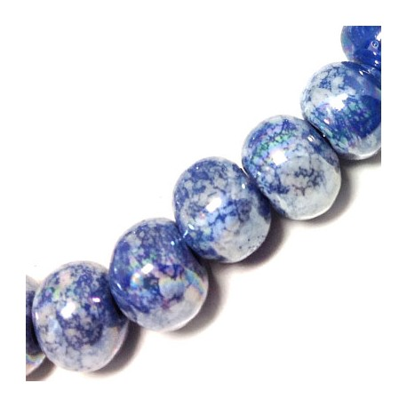 Enamel Ceramic Bead 16mm