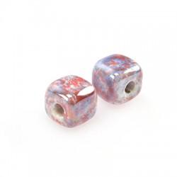 Ceramic Slider Cube 8mm (Ø 2mm)