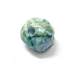 Enamel Ceramic Bead 25mm (Ø 6mm)