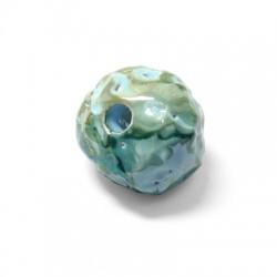 Perle Céramique Émaillée 25mm (Ø 6mm)