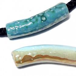 Enamel Ceramic Tube 51x13mm (Ø 7.2mm)