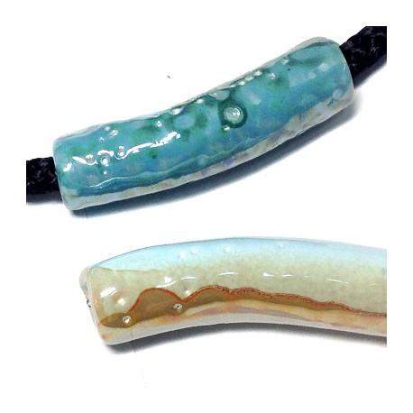 Tube Céramique Émaillé 51x13mm (Ø 7.2mm)