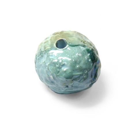Enamel Ceramic Bead 35mm (Ø 5mm)