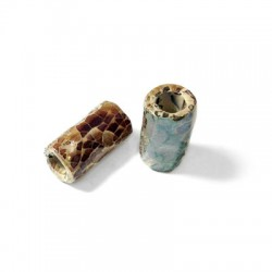 Tube Céramique Émaillé 22x11mm (Ø 5.2mm)