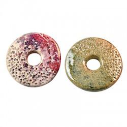 Κεραμικό Στοιχείο Στρογγυλό Δίσκος με Σμάλτο  44mm (Ø10mm)