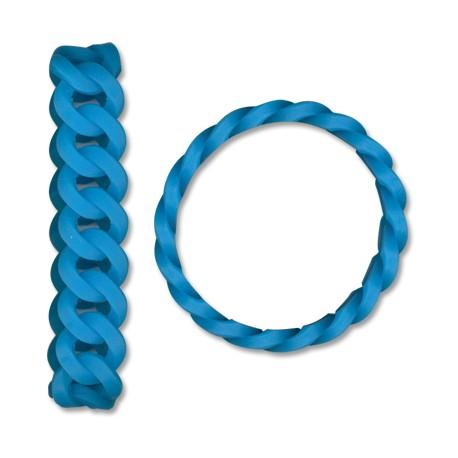 Silicon Bracelet Chain Effect 20x1.8cm