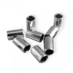 Μεταλλική Μπρούτζινη Χάντρα Σωληνάκι 3x5mm (Ø2.2mm)