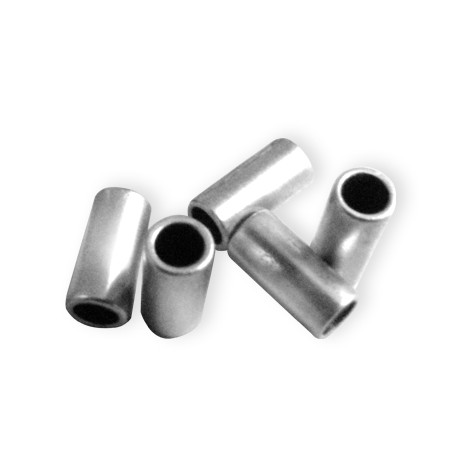 Tube en Métal/Laiton, 3.5x7.2mm (Ø 2.5mm)