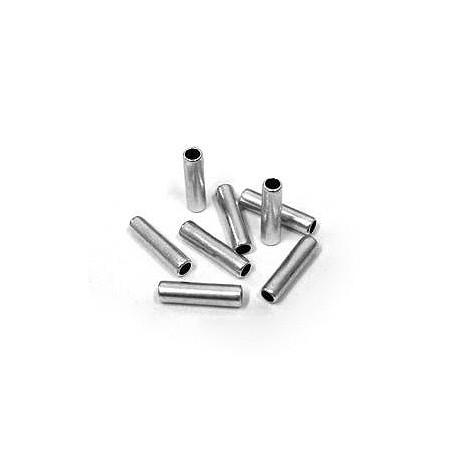 Μετ. Ορειχάλκινη Μπρούτζινη Χάντρα Σωληνάκι 2.5x10mm (Ø1.5mm)
