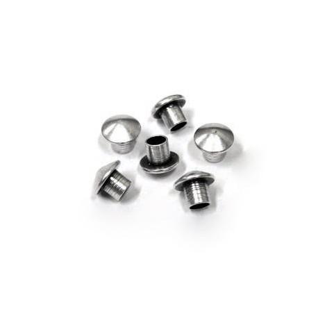 Μετ. Ορειχ. Μπρούτζινο Σωληνάκι Καπελάκι 7.4x6.3mm (Ø3.2mm)