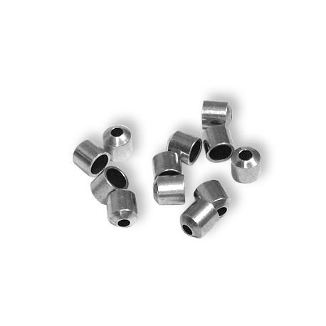 Μεταλλική Μπρούτζινη Χάντρα Καπελάκι 4x4.2mm (Ø3.2/1.5mm)