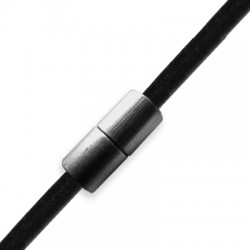 Brass Tube Magnetic Clasp 8x17mm (Ø 3mm)