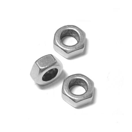 Μεταλλική Μπρούτζινη Χάντρα Παξιμάδι 13x6.2mm (Ø8mm)