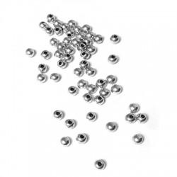 Calotte en Métal/Laiton 3x2,5mm (Ø 1mm)