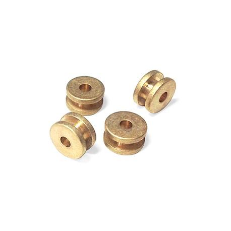 Brass Reel 10x5.5mm (Ø 3.2mm)
