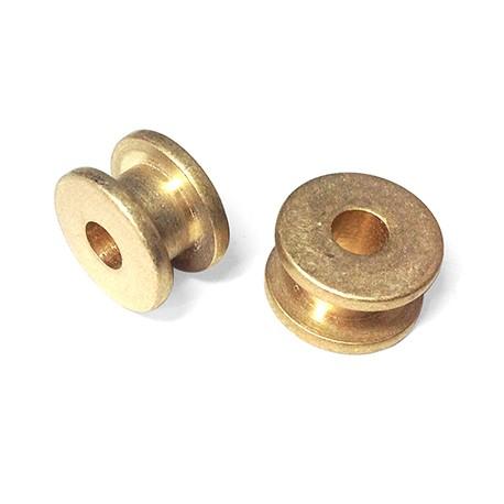 Μεταλλική Μπρούτζινο Στοιχείο Κουβαρίστρα 15x9.2mm (Ø5mm)