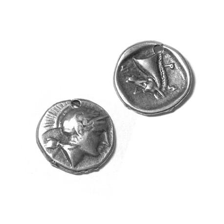 Zamak Charm Coin 11mm