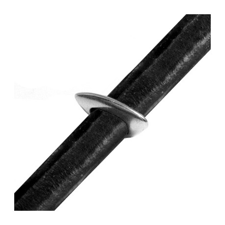 Zamak Slider Regaliz 20x14x3mm (Ø 10x8mm)