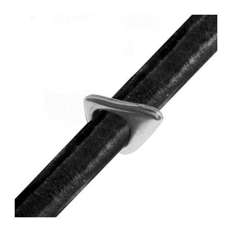 Mεταλλικό Ζάμακ Χυτό Στοιχείο Περαστό 21x14x2.5mm (Ø 10x8mm) για Regaliz