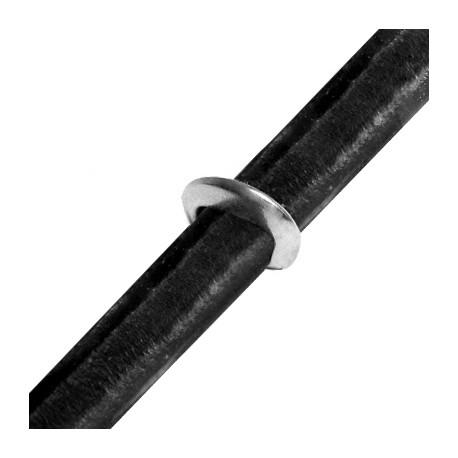 Zamak Slider Regaliz 16x15x3mm (Ø 10x8mm)