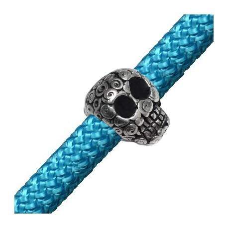 Zamak Popped Skull 21x16mm (Ø 10mm)