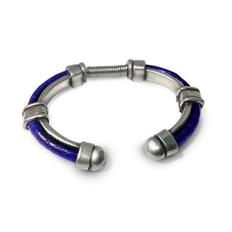 Zamak Bracelet w/ Coil 78mm (Fits 5mm Cord. Not Included)